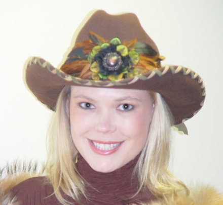Cowgirl Hats - Laced with suede hatband 0700