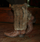 Boot Toppers - Natural Fur *