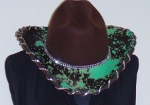 Cowgirl Hats - Laced with Crystals  0702Crystals