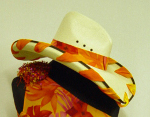 Cowgirl Hats - Laced Straw Hat 0703