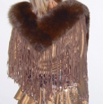 Fringed Fox Collar